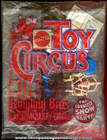 Old Unopened Ringling Bros. and Barnum & Bailey Circus Performer Toy