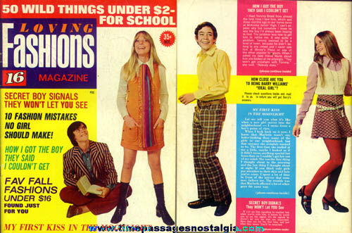 #1 Loving Fashions Magazine October 1971 Issue
