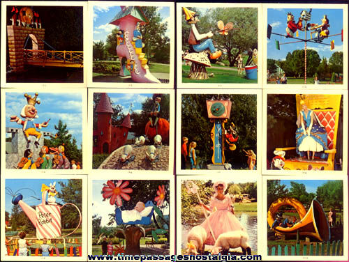 (23) Old Storybook Gardens Amusement Theme Park Color Photographs