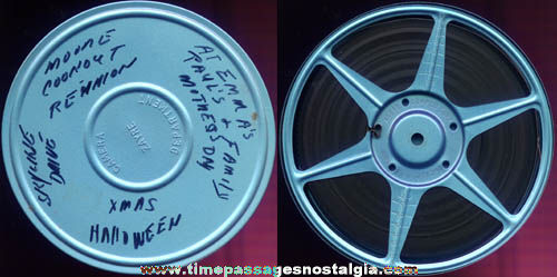 1960s 8mm Home Movie Reel