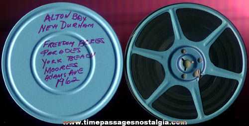 1962 8mm Home Movie Reel