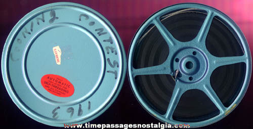 1963 8mm Home Movie Reel