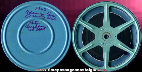 1963 8mm Home Movie Reel