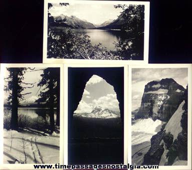 (16) Old Glacier National Park Souvenir Photographs