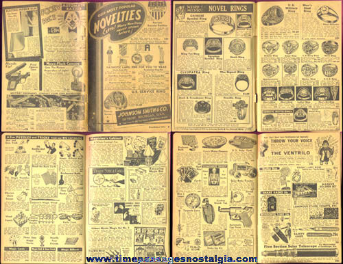 1941 Johnson Smith & Company Novelty Catalog