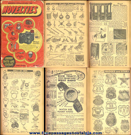 1950 Johnson Smith & Company Novelty Catalog