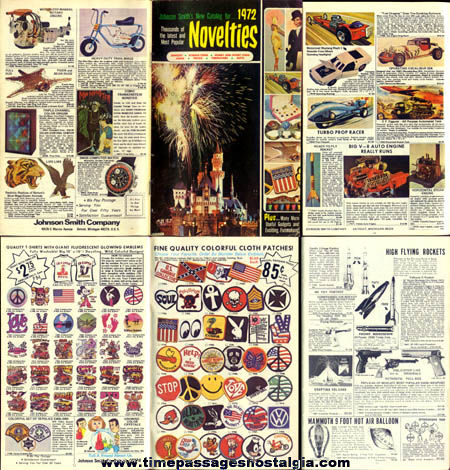 1972 Johnson Smith & Company Novelty Catalog