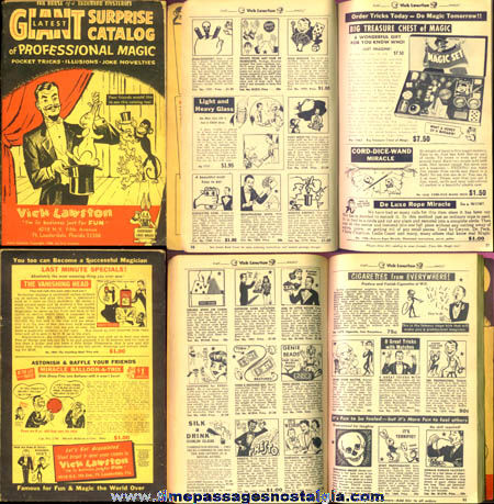 1968 Vick Lawston Magic & Novelty Catalog