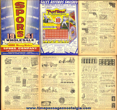 1941 Spors Wholesale Merchandise Catalog