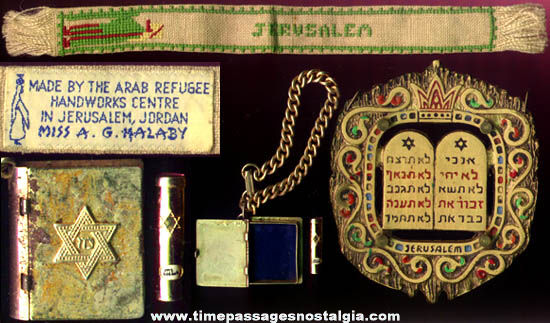 (3) Old Jewish Religion Related Items