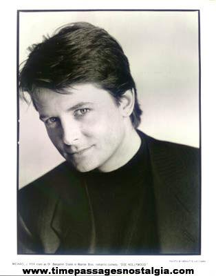 Michael J. Fox Doc Hollywood Movie Promotional Photograph