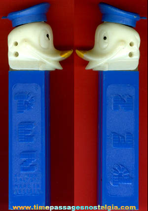 Old Walt Disney Donald Duck Character PEZ Candy Dispenser