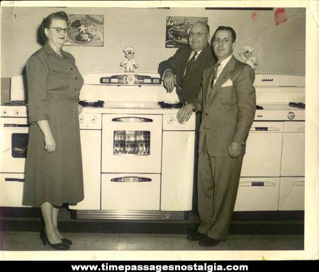 Old Tappan Range / Oven Salesman Advertising Photograph