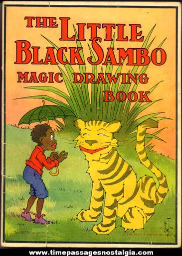 Pics photos little black sambo magic drawing book in fun with dots