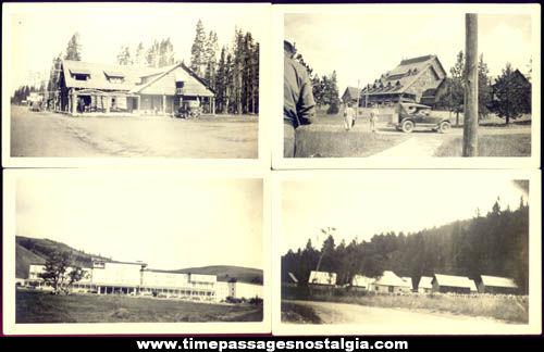 (64) Old Yellowstone National Park Photographs & Negatives