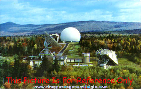 (6) 1962 Earth Station Andover, Maine Photograph Slides