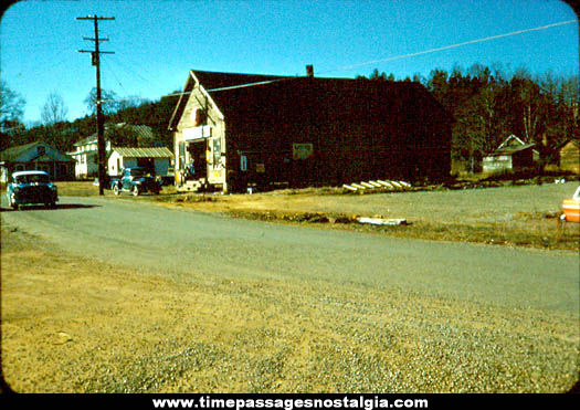 Old General Store Exterior Photograph Slide