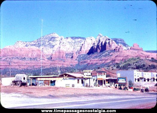 Old Desert Tourist Store Photograph Slide