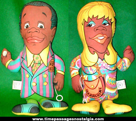Colorful ©1970 Flip Wilson / Geraldine Jones Talking Character Doll
