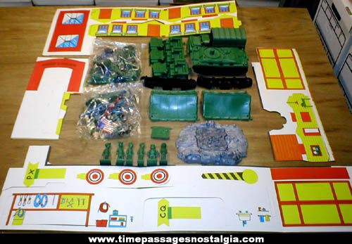 ©1964 Beetle Bailey Camp Swampy Multiple Products Playset
