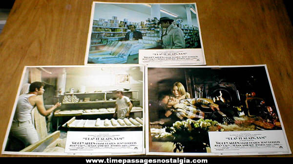 (3) ©1972 Play It Again, Sam Movie Advertising Lobby Cards