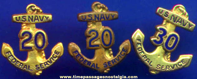 Old us navy buttons