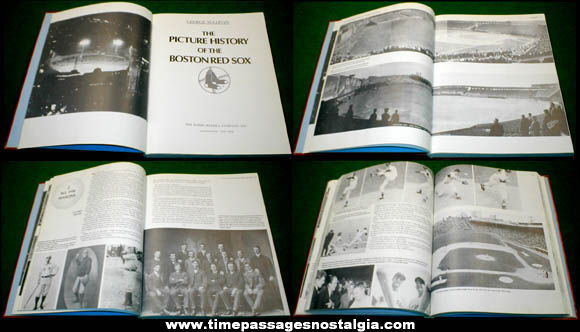 ©1979 ''The Picture History Of The Boston Red Sox'' Baseball Book