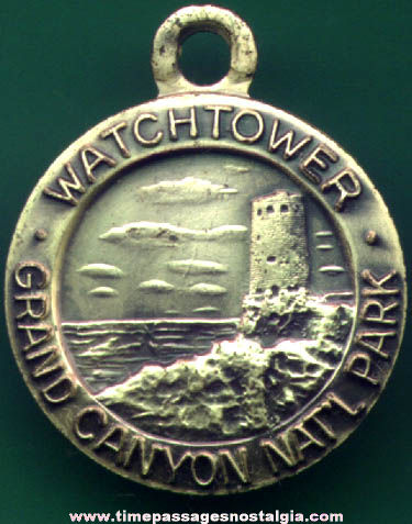 Old Grand Canyon National Park Watchtower Advertising Souvenir Charm