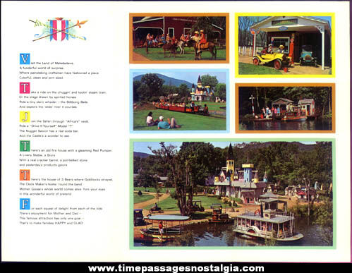 Colorful Old Land Of Make Believe Advertising Brochure
