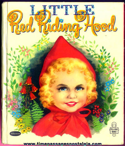 �1953 Little Red Riding Hood Whitman Tell A Tales Book
