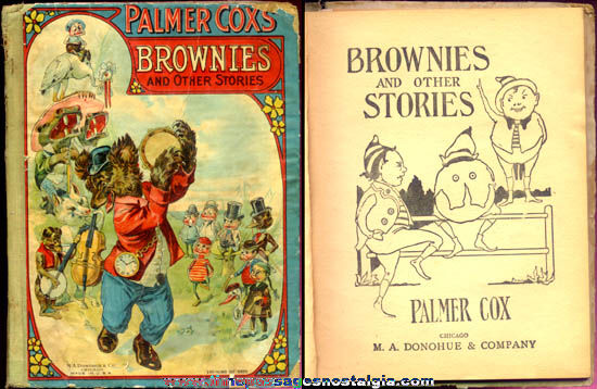 1910s Palmer Cox Brownies Character Book