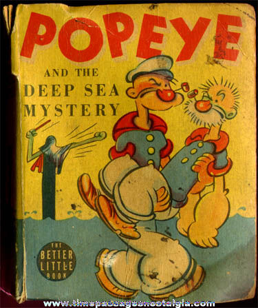 ©1939 Popeye and the Deep Sea Mystery Better Little Book