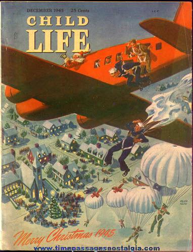 December 1945 Child Life World War II Magazine