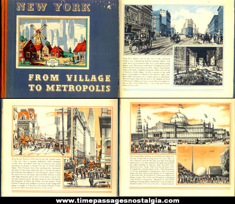 ©1939 New York From Village To Metropolis Hard Back Book