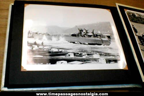 Old World War II Soldier & Sailor Military Photograph Album