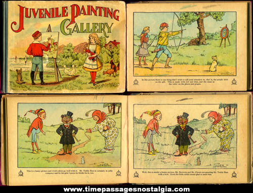 ©1908 Juvenile Painting Gallery Hard Cover Book