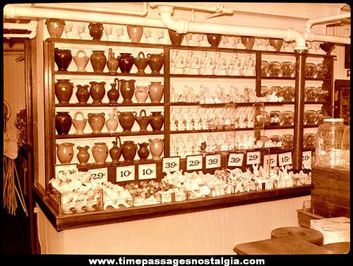 (13) 1944 J. J. Newberrys Department Store Large Interior & Exterior Photograph Negatives