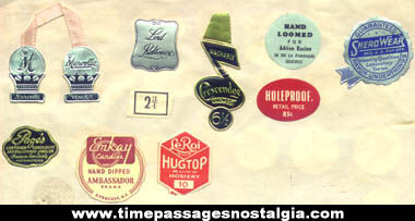 1940s - 1950s Advertising Sticker & Label Collection