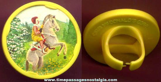 ©1979 McDonalds Restaurant Advertising Premium Toy Ring