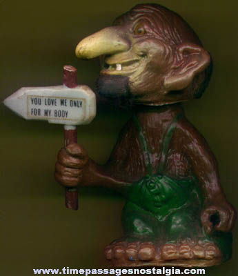 ©1972 Berries Nodder Troll Figure