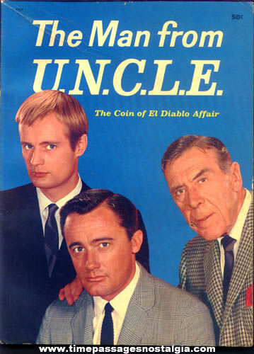 ©1965 Man From U.N.C.L.E. Story Book