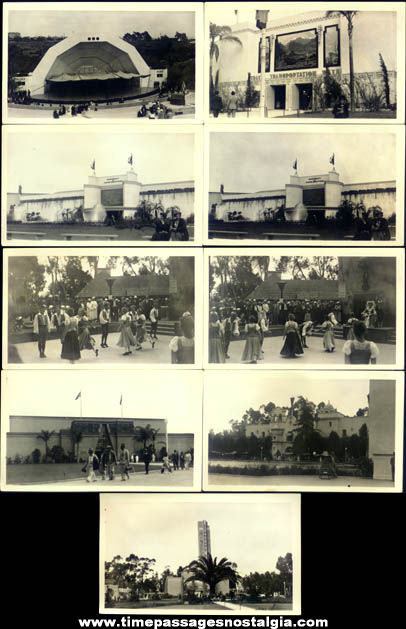 (17) 1935 California Pacific Exposition San Diego Photographs