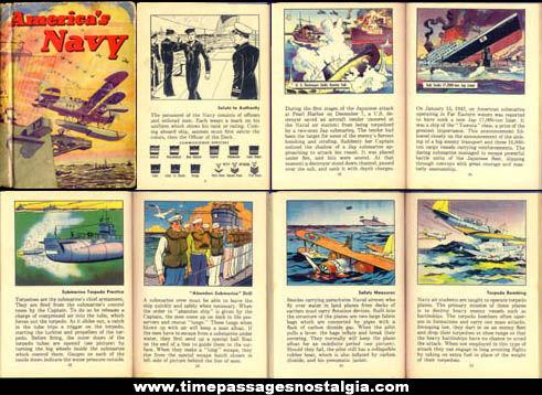 ©1942 Gum, Inc. America's Navy Book
