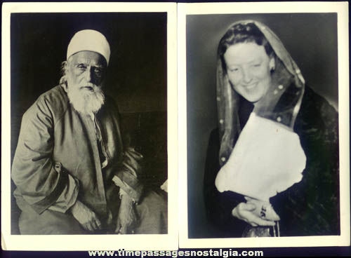 (15) Old ABDU'L-BAHA Photographs & Louhelen Baha'i School Programs