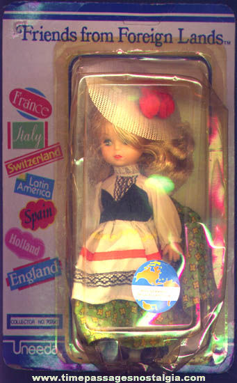 Unopened ©1981 Uneeda Friends From Foreign Lands German Doll
