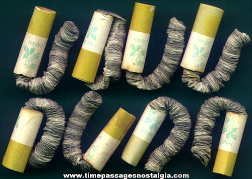 (8) Old Gum Ball Machine Prize Novelty Joke Burnt Cigarettes