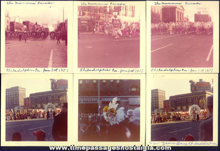 (15) Old Mummer New Years Parade Photographs