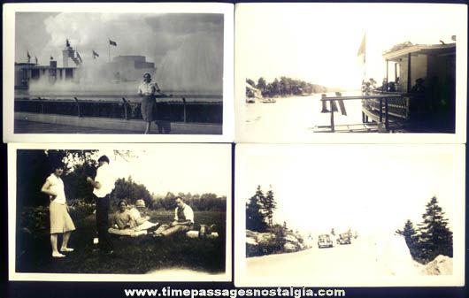 (7) 1939 - 1940 New York World's Fair Photographs