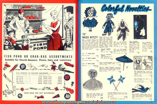 1965 Acme Novelty, Carnival Game, & Costume Wholesale Catalog
