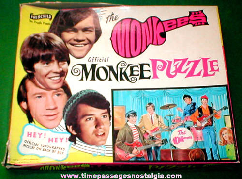 ©1967 Official Monkees Fairchild Jigsaw Puzzle